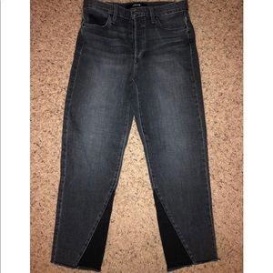 "Joe's ""The Debbie High Rise Straight Crop"" Size 27"
